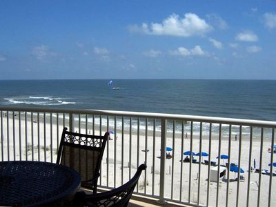 Photo for BEACHFRONT  CONDO - Spectacular Views -  SPRING, LATE SUMMER, and FALL Openings