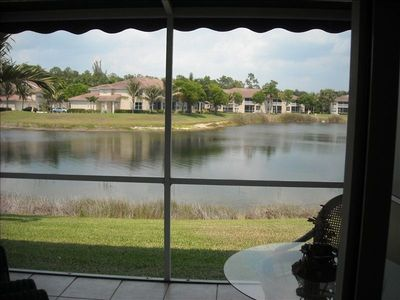 Photo for Naples Fl  Beautiful Lake Front Condo - Near Beach and 5th Ave