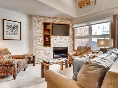 Photo for Condo in ski-in/ski-out complex, shared hot tub and pool