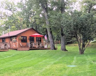 Lake Front One Bedroom  Log Cabin located at Clear Lake Resort and Boat Rental