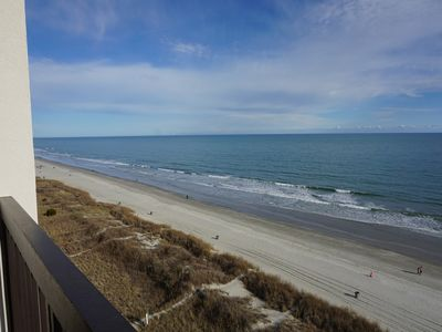 Photo for Water Pointe II Fully Renovated Ocean Front 3 Bed 2 Bath w/ Indoor/Outdoor Pool