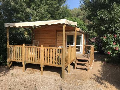 Photo for Camping Parc des Monges - Mobile home, 2 bedrooms, 4 person