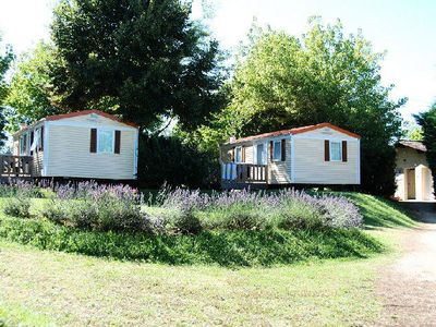 Photo for Camping Le Temps de Vivre *** - Mobil Home Eco 3 Rooms 4 People