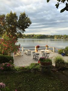 Photo for Villa Francesca Romana Relax by the lake a few meters from the sea
