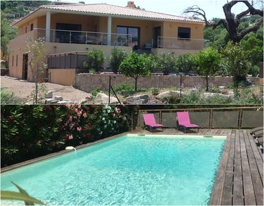 Photo for LUXURY VILLA, PRIVATE POOL, BEACH 500 M, CLOSE TO PORTO VECCHIO