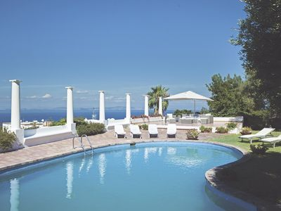 Photo for Mediterranean Style Villa with garden and pool