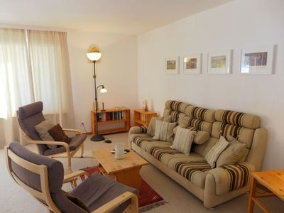 Photo for Apartment Chesa Champagna B in Zuoz - 4 persons, 2 bedrooms
