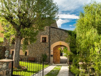 Photo for Enchanting house for groups in the Catalan Pyrenees