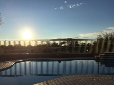 Photo for Cave Creek Beauty with Sunset and Golf Course Views!