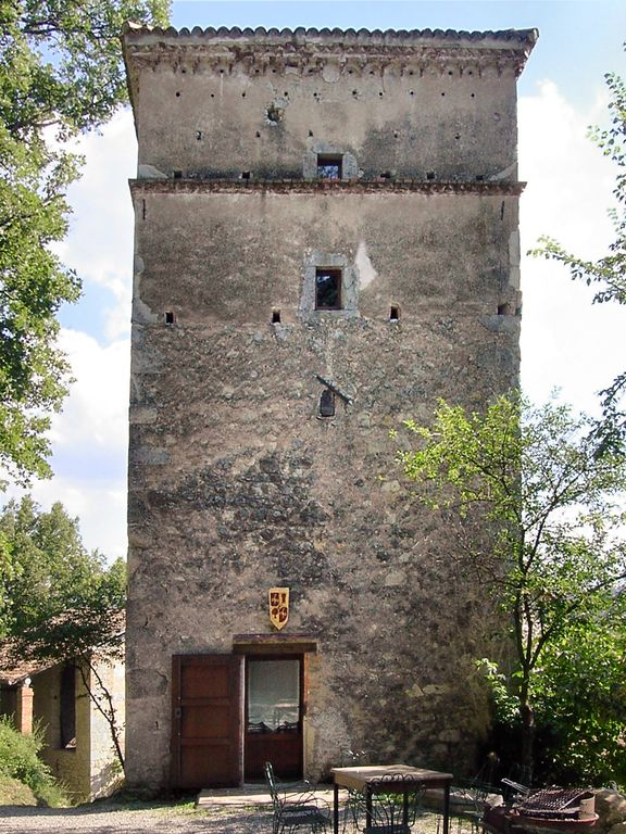It852 The Tower In 15th Century Borgo Fontanini With