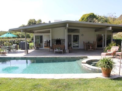 Photo for Gated Peaceful & Private Point Dume Gem, Pool & Spa, Families and Pets Welcome!