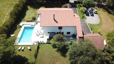 Photo for Large house, standing, pool tranquility near the sea Biarritz Anglet