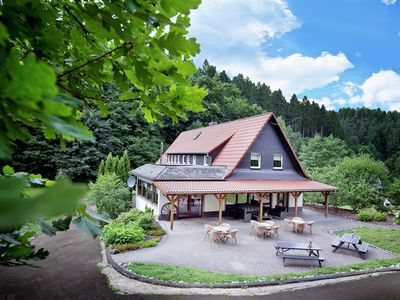 Photo for Luxurious villa in the Westerwald with cinema and billiards table