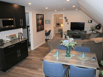 Photo for Bonbini Loft NEW 2 bedroom 2nd floor apartment with kitchen and furnished patio