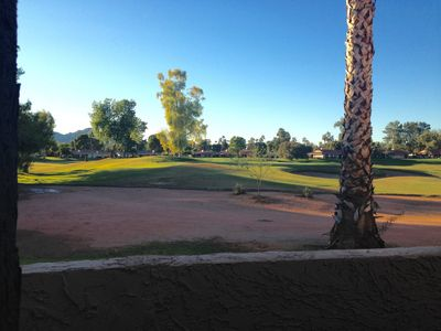 Photo for Gorgeous & Sunlit Golf Course Condo on Single Level!