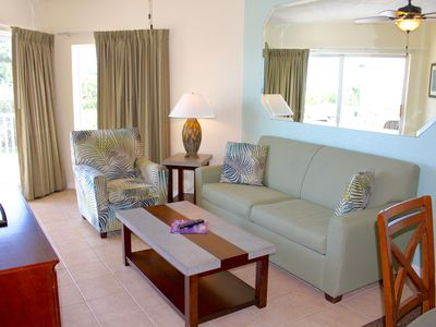 Photo for STAY RIGHT ON THE BEACH! LOVELY 2BR/2BA WITH GULF VIEWS, POOL, PARKING, CAFE