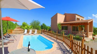 Photo for Modern Villa with Private Pool and well located for exploring some of Mallorca's Best Beaches!
