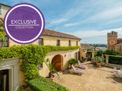 Photo for Villa Estelle - heart of historic Haut-de-Cagnes