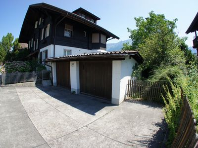 Photo for WHOLE SWISS CHALET, Downtown Interlaken HOT TUB AND SAUNA