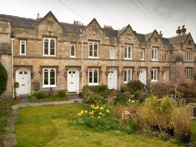 Photo for Historic 2-bed almshouse in quiet corner of Bath, ideal for romantic get-aways