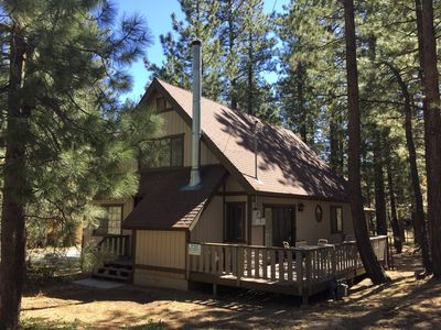 Photo for Fantastic Cabin - Walk to Snow Summit. Gorgeous, family-friendly, home.