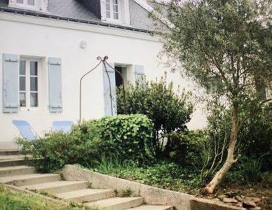 Photo for Charming house on the heights of Sauzon