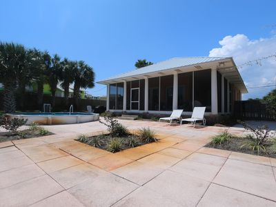 Photo for Frog Hollow Villa-Steps to the Beach-Sleeps 6-Pool-Sundeck-Screened Porch!