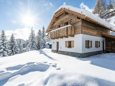Photo for 2 adjacent high-quality, luxurious chalets by the piste