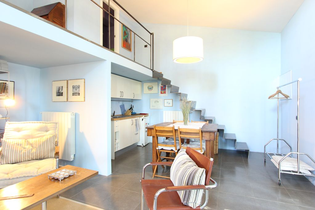 A Nice Small Apartment On 2 Levels Inside Modern Villa With Swimming Pool