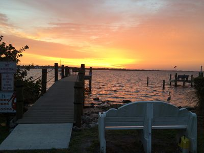 Photo for Sunrise on the dock; sunset at the beach. Ahh ... vacation on Anna Maria Island!