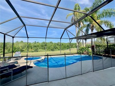 Photo for 5 Star Disney themed Villa with ultra-private s/w facing pool 3 miles from parks