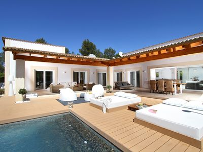 Photo for Villa Alba is a Contemporary holiday villa for rent near Pollensa with open plan living area