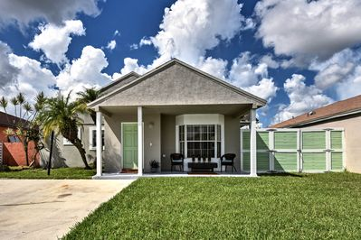 Book your Miami getaway to this charming 3-bedroom, 2-bath vacation rental home.