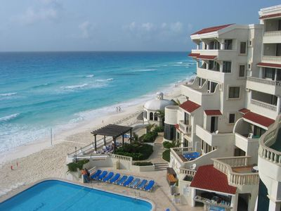 Photo for GREAT CONDO IN CANCUN - RIGHT ON BEACH