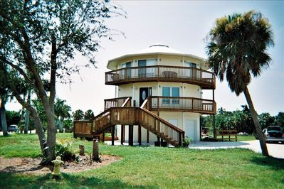 Round House From Street ~ this is a two story home not two units!