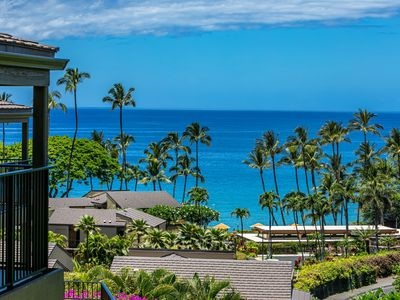 Photo for Wailea Elua #102 2Bd/2Ba Beach Front Wailea, Full Ocean View, Elua Beach