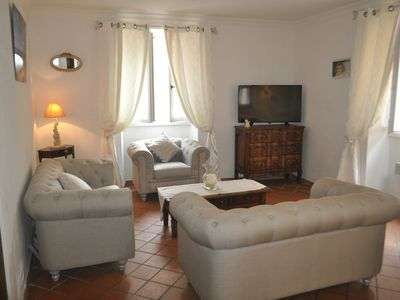 Photo for Beautiful house of 120 m2 in the heart of Valbonne village for 6 people