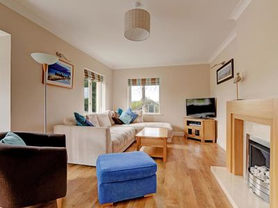 Photo for A spacious holiday home, ideal for two families, a 5 min. walk from Saundersfoot