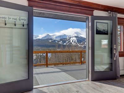 Photo for Sunset Chateau - Beautiful Remodeled Breckenridge Home with Breathtaking Views!