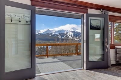 Sunset Chateau Beautiful Remodeled Breckenridge Home With Breathtaking Views Baldy Mountain