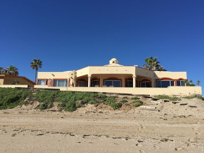Photo for Beach Front Home ! Las Conchas-                    Gated