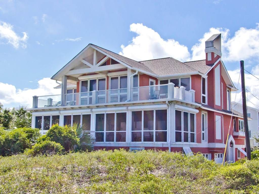 Vrbo Tybee Island 1 Bedroom Large 5 Bedroom Oceanfront Home Spectacula Vrbo