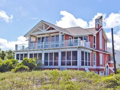 Photo for Large 5 Bedroom Oceanfront Home, Spectacular Views of Ocean and Room For Everyone!