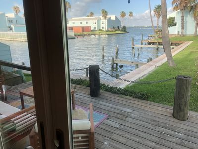 Photo for Dock of the Bay - Luxury Key Allegro Condo on the Water