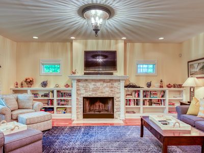 Photo for Three Gables - Game room, private hot tub, BBQ!