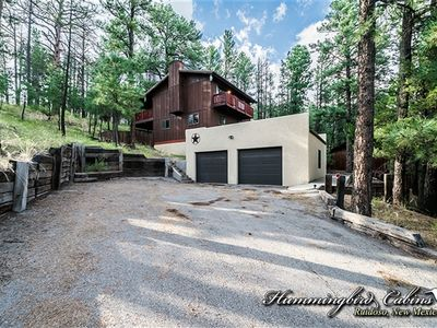 Photo for Sunset Cabin: 'Secret private master deck a must see!' With hot tub.