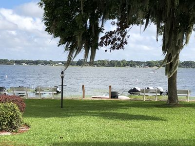 Photo for Snow Bird Haven on Beautiful Lake Weir Close to the Villages