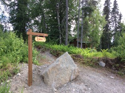 Photo for Talkeetna, Alaska - private cabin with a view of Denali