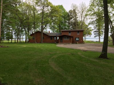Photo for Family Friendly Leech Lake Home On Three Level Acres Of Lakeshore