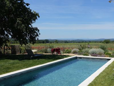 Photo for 18th century MAS in the countryside 7km from UZES - SWIMMING POOL - EXCEPTIONAL VIEW